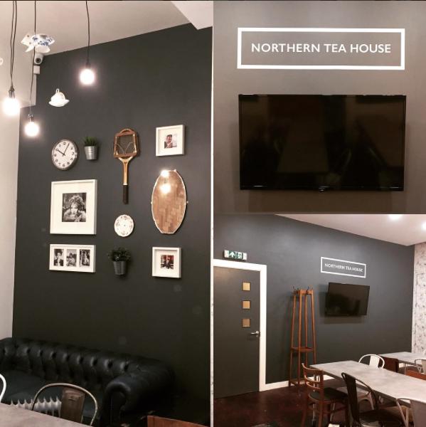 Hudderfield Northern Tea house meeting room